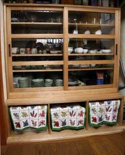 特注食器棚