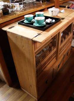 特注茶道具飾り棚2