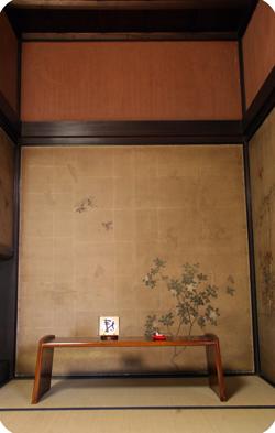 欅拭き漆文机