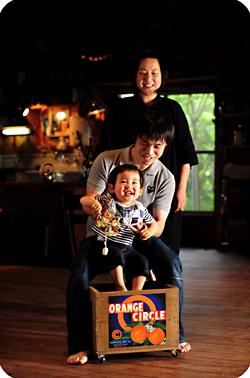 家族写真2009