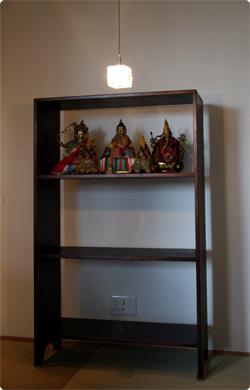 三段飾り棚