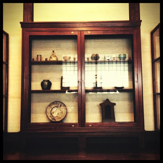 日本民藝館 展示棚